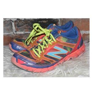 New Balance 750 V1 Rainbow Running Sneakers 11